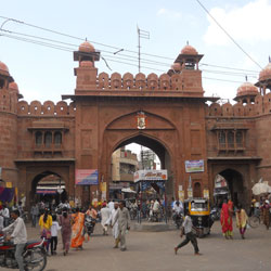 Kote Gate in Bikaner