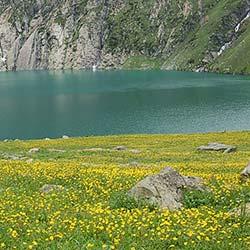 Krishnasar Lake in Sonamarg