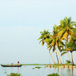 Kumarakom Beach in Kottayam