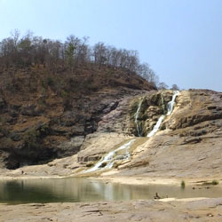 Kuntala Waterfalls in Adilabad