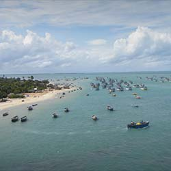 Kurusadai Islands in Rameswaram
