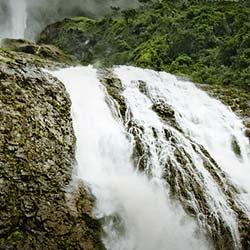 Kynrem Falls in Cherrapunji