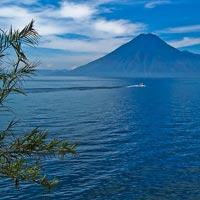 Lago de Atitlan in Guatemalan Highlands