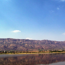 Lake Foy Sagar in Ajmer