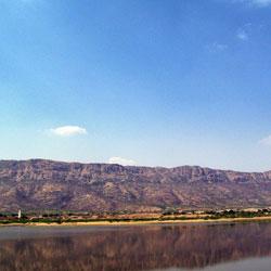 Lake Foy Sagar in Ajmer