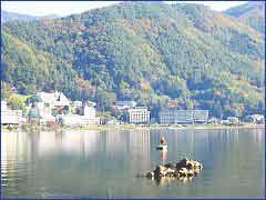 Lake Kawaguchi in Chubu