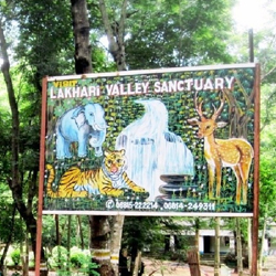Lakhari Valley Sanctuary in Ganjam