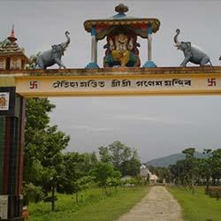 Lalmati-Duramari Ganesh Temple in Guwahati