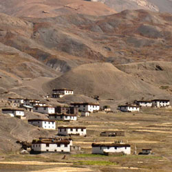 Langza Village in Lahaul & Spiti