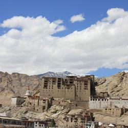 Leh Palace in Leh Ladakh