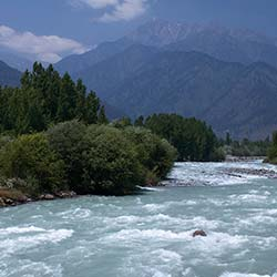 Lidder River in Pahalgam