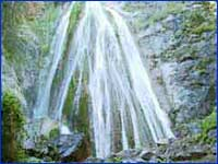 Limekiln Falls (Monterey) in California