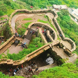 Lohagad Fort in Pune