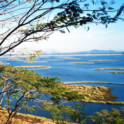 Loktak Lake in Moirang
