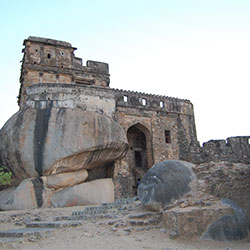 Madan Mahal Fort in Jabalpur