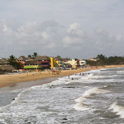 Mahabalipuram Beach in