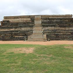 Mahanavami Dibba in Hampi
