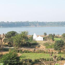 Maharana Pratap Sagar Lake in Kangra