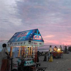 Mahatma Gandhi Beach And Park in Kollam