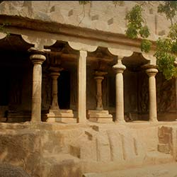 Mahishamardini Cave in Mahabalipuram