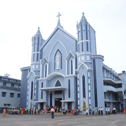Mai De Deus Church in Puttur