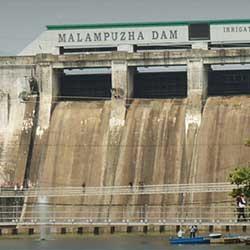 Malampuzha Dam in Palakkad