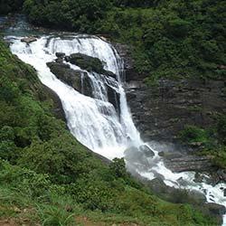 Mallalli Falls in Kodagu