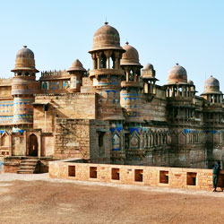 Man Singh Palace in Gwalior