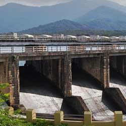 Mangalam Dam in Palakkad