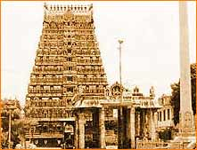 Mannargudi Temple in Thanjavur