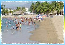 Manzanillo Beach in Colima