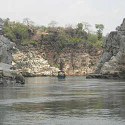 Marble Rocks in Jabalpur