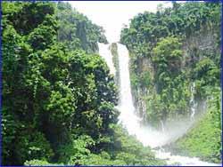 Maria Cristina Falls in Mindanao