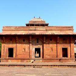 Mariam-uz-zamani Palace in Fatehpur Sikri