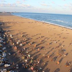 Marina Beach in Chennai