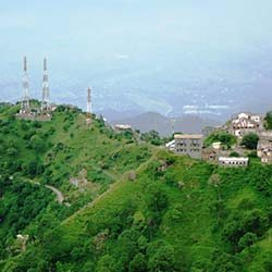 Monkey Point in Kasauli