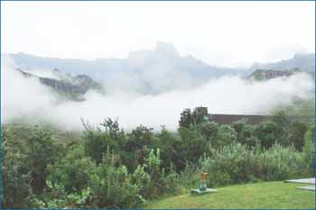 Mont Aux Sources in Drakensberg