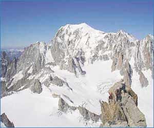 Mont Blanc in Bareges