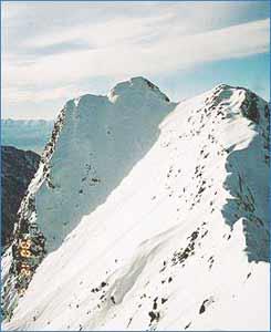 Monte Darwin in Tierra del Fuego
