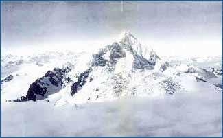Monte Sarmiento in Tierra del Fuego