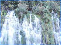 Mossbrae Falls (Shasta Cascade) in California
