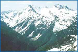 Mount Anderson in Washington