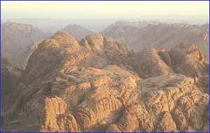 Mount Sinai in Sinai Peninsula