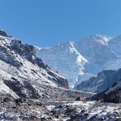 Mountain Trekking in Kanchenjunga in Ravangla