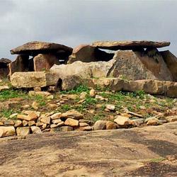 Muniyara Dolmens in Munnar