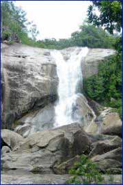 Murray Falls in Cairns
