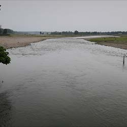 Murti River in Jalpaiguri