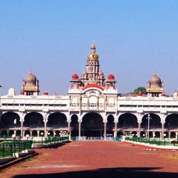 Mysore Palace in Mysore