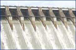 Nagarjuna Sagar Dam in Hyderabad