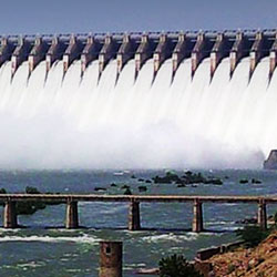 Nagarjuna Sagar Dam in Hyderabad